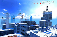 Mirror's Edge, game, apple, screen, image