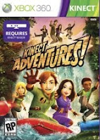 Kinect Adventures, game, box, art, screen, image, xbox