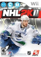 NHL 2K11, wii, nintendo, game, box, art, screen, image