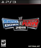 WWE SmackDown vs. Raw 2011, game, sony, ps3, box, art