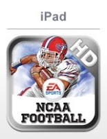 NCAA Football HD, apple, iphone, screen