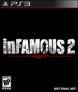 Infamous 2, game, pc, box, art