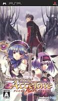 Blazing Souls Accelate, psp, box, art, game