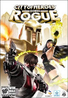 City of Heroes, CoH, Going Rogue, pc, mac, box, art