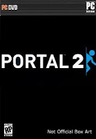 Portal 2, mac, pc, box, art