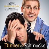 Dinner for Schmucks, Movie, Soundtrack, cd, box, art