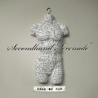 Hear Me Now, Secondhand Serenade, cd, box, art, audio