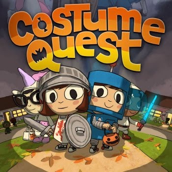 Costume Quest, game, xbox, box, art, image, screen