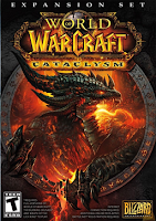 WoW Cataclysm, game, image, screen, box, art