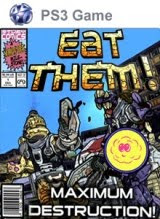 Eat Them, ps3, game, box, art