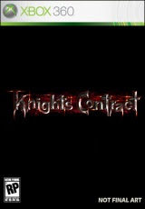 Knights Contract, xbox, game, box, art