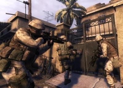 Six Days in Fallujah, game, screen