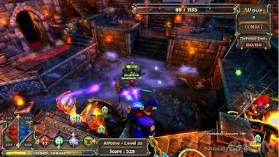 Dungeon Defenders, game, screen