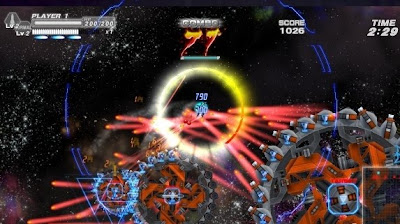 Bangai-O HD, Missile Fury Shooter, game, screen, xbox