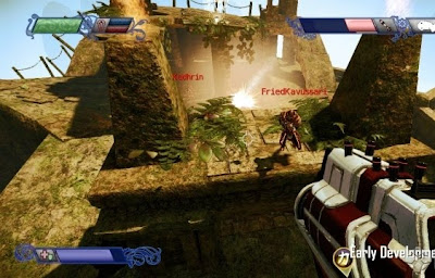 Nexuiz, game. screen