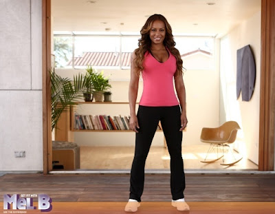 Get Fit with Mel B, ps3, screen