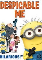 Despicable Me, DVD, box, art