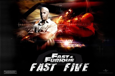 Fast Five, movie,Vin Diesel, screen