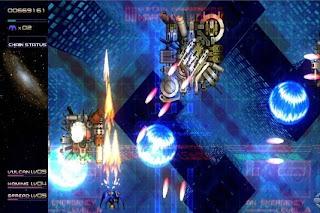 Radiant Silvergun, game, screen, xbox