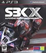 SBK X: Superbike World Championship, game, ps3, box, art