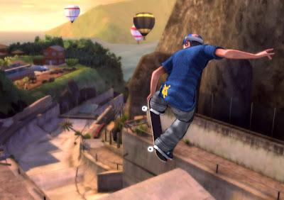 Tony Hawk, Shred, wii, game, screen