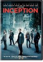 Inception, dvd, box, art