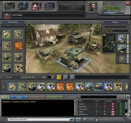 system requirements for company of heroes online