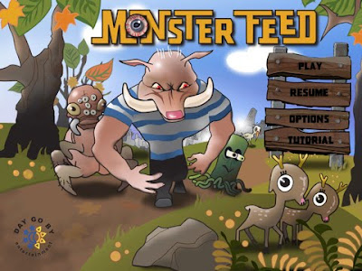 Monster Feed, game, screen, apple, ipad