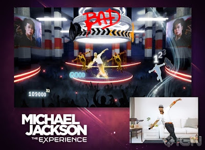 Michael Jackson The Experience, mj, game, xbox, tracks