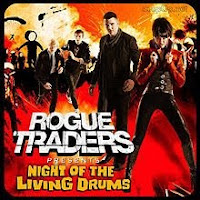 Rogue Traders, Night of the Living Drums, cd, audio, new, album