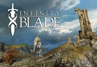 Infinity Blade Fighting, game, iphone, screen