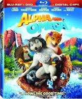 Alpha and Omega,Blu-ray, box, art