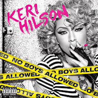 Keri Hilson, No Boys Allowed, box, art, cd, audio