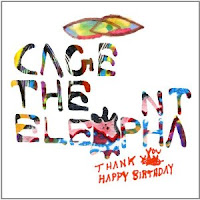 Cage the Elephant, Thank You, Happy Birthday, cd, audio, cover, new, album