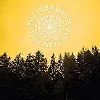 The Decemberists, the King Is Dead, cd, audio, cover