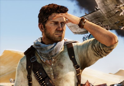 Uncharted 3, Drake's, Deception, screen, game