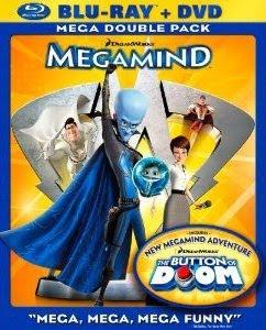 Megamind, DVD, Blu-ray, combo, cover, box, art