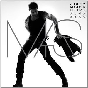 Ricky Martin, Music + Soul + Sex, cd, cover, audio