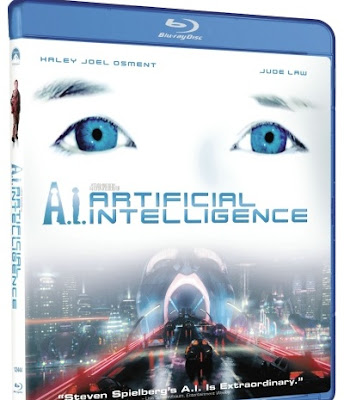 A.I. Artificial Intelligence, DVD, Blu-ray, movie