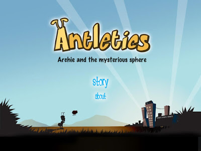 Antletics: Archie And The Mysterious Sphere, game, apple, screen