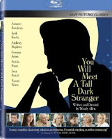 You Will Meet a Tall Dark Stranger, Blu-ray, movie, cover