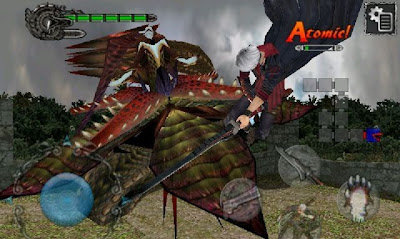 Devil May Cry 4 Refrain, apple, iphone, screen