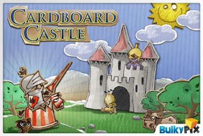 Cardboard Castle, iphone, game, scfreen