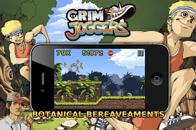 Grim Joggers, game, iphone