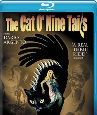 The Cat O'Nine, Blu-ray, cover, box, art