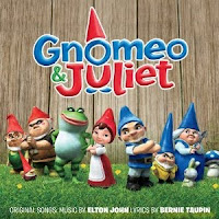 Gnomeo and Juliet, soundtrack, cd, cover, audio