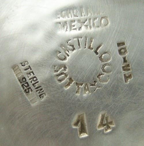 My Vintage Taxco Silver Los Castillo Holloware