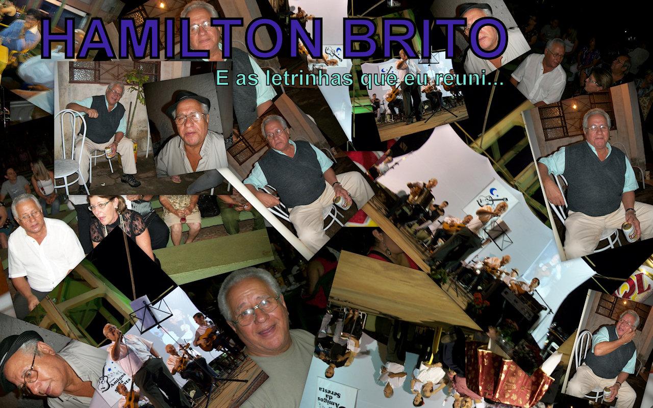 HAMILTON BRITO... e as letrinhas que eu reuni