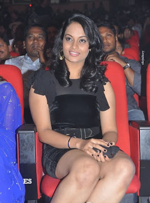Suja Hot Stills at Nagavalli Audio Launch hot images