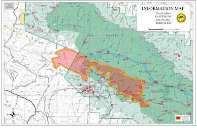 Cfn California Fire News Cal Fire News Inciweb Zaca Wildland